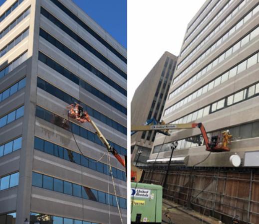 Case Study: Fire Restoration of 10-Storey Office Building